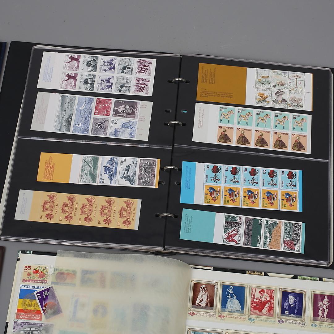 utländska frimärken värde