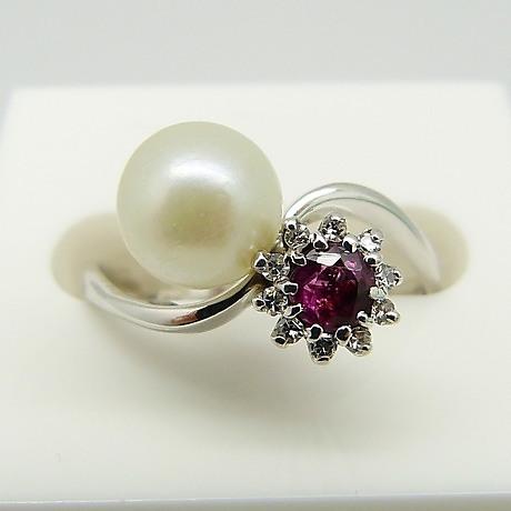 Ring Mit Perlen Und Brillianten Schmuck Und Edelsteine Ringe