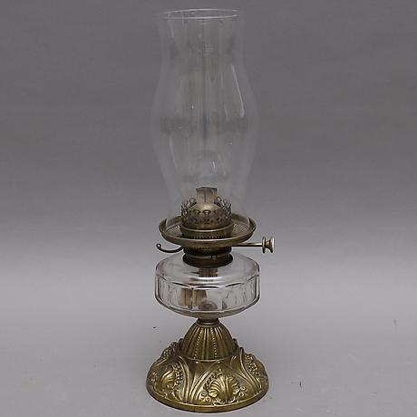 FOTOGENLAMPA, gulmetallglas, Hinks, 1900 talets första