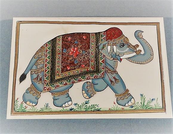 Elefant Malerei Indien 20 Jh Asiatica Auctionet