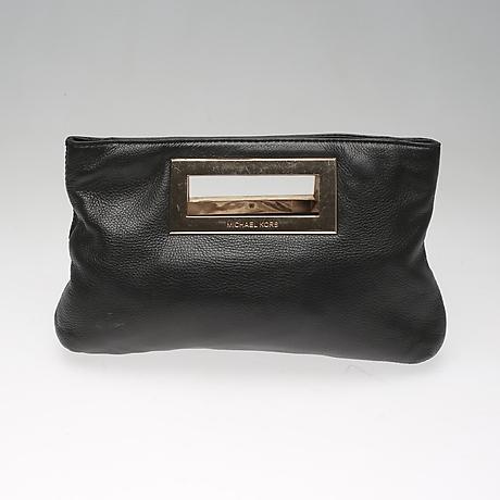 733506a810 AFTONVÄSKA, clutch. Satin och skinn. Gianni Versace, Italien ...