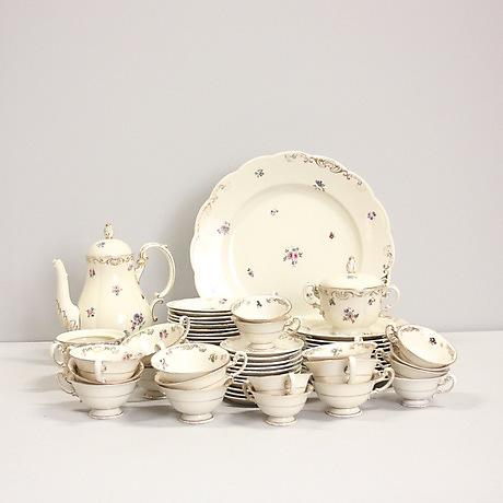 544b441c KAFFESERVIS, 64 delar, Tyskland. Ceramics & Porcelain - European - Auctionet