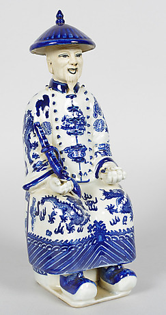 Kinesiska Porslinsfigurer