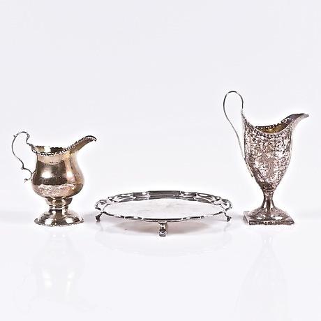 SOCKERTÅNG, silver, England, vikt ca  46,4 gram  Silver & Metal
