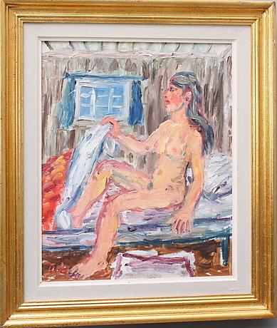 Tavla gallerix naken kvinna