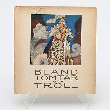 BLAND TOMTAR OCH TROLL 1920 ILLUSTRERAD AV G - A. TENGGREN. Böcker ...