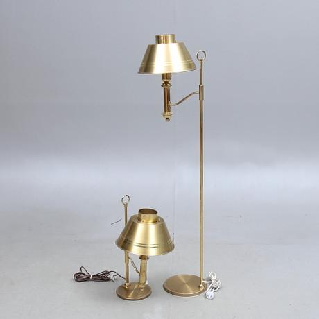 GOLVLAMPA 1900 talets början. Belysning & Lampor
