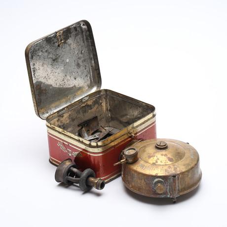 FOTOGENLAMPA, glas, mässing, 1900 tal. Belysning & Lampor