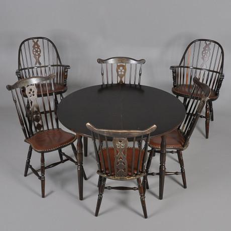 Bord på Laholms Auktionskammare Auctionet