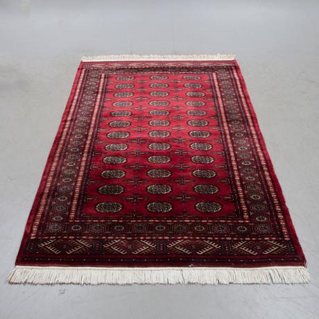 ALFOMBRA, oriental, Pakistán, 200 x 136 cm, década de 1900 ...