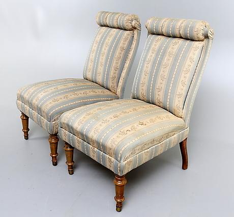 emmaf t ljer 1 par 1880 tal m bel sessel st hle. Black Bedroom Furniture Sets. Home Design Ideas