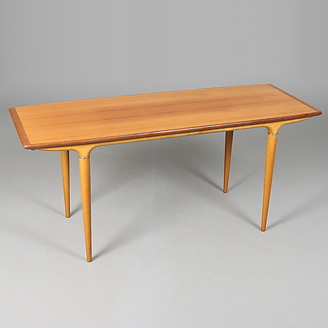 Tables at Stadsauktion Sundsvall – Auctionet : soffbord teak : Soffbord