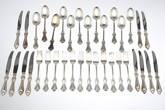 olga silverbestick värde