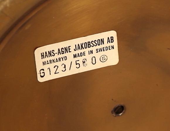 GOLVLAMPA, Hans Agne Jakobsson, Markaryd Belysning& Lampor Golvlampor Auctionet