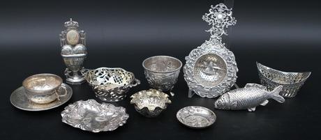 DIVERSE, silver, 11 delar.