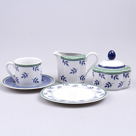 kaffeservis 40 delar gallo design switch 3 villeroy boch keramik porslin europeiskt. Black Bedroom Furniture Sets. Home Design Ideas