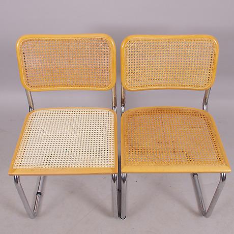 stolar 6 stycken bauhausstil m bel sessel st hle auctionet. Black Bedroom Furniture Sets. Home Design Ideas