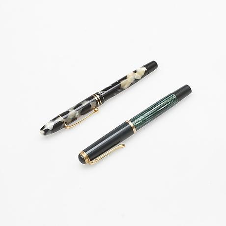 reservoirpenna samt blyertspenna 2 st mont blanc samt. Black Bedroom Furniture Sets. Home Design Ideas