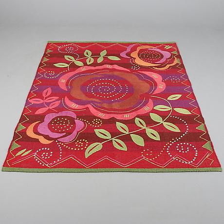 matta ull ros gudrun sj d n 183 x 146 5 cm teppiche textilien teppiche auctionet. Black Bedroom Furniture Sets. Home Design Ideas