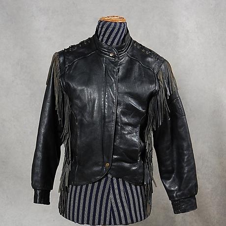 HARLEY DAVIDSON. skinnjacka, dam, MC Modell. Vintagekläder