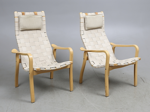 "FåTÖLJER, ett par,""Primo"", Yngve Ekström, Swedese Furniture Armchairs& Chairs Auctionet"