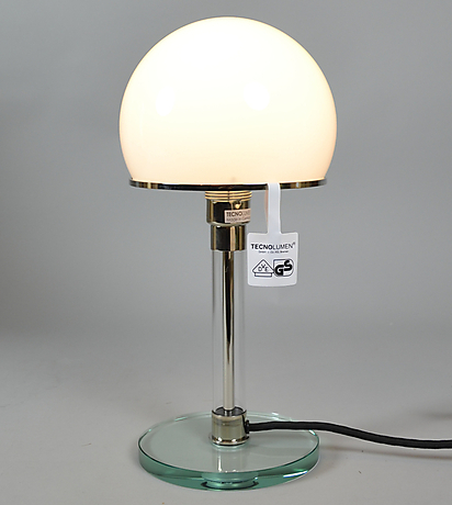 wilhelm wagenfeld wg 24 tischlampe belysning lampor bordslampor auctionet. Black Bedroom Furniture Sets. Home Design Ideas