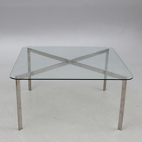 Soffbord soffbord metall : SOFFBORD, glas samt metall, IKEA, 2000-tal. M̦bler - Bord РAuctionet