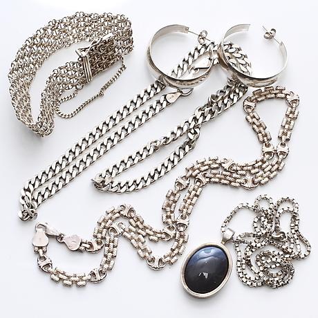 "silver"" i Smycken - Auctionet f515dbec2cc6e"