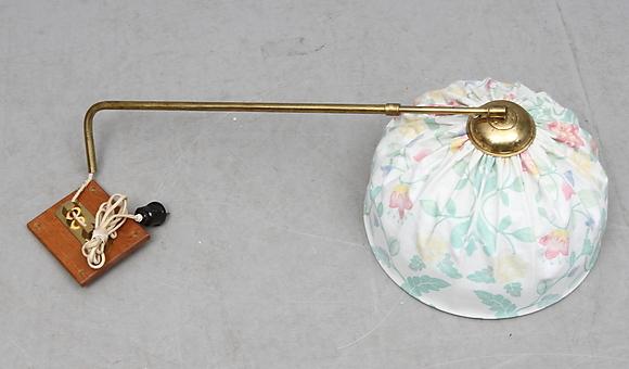 Vägglampor Jugend : Vägglampor på auktionshuset kolonn auctionet