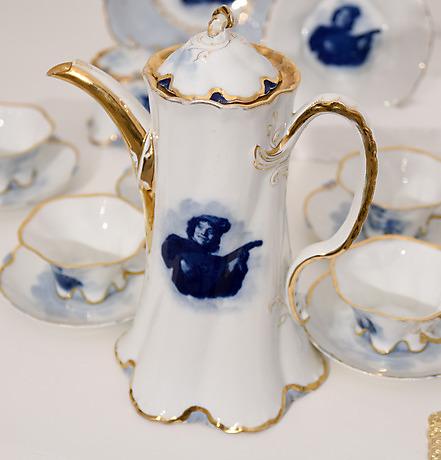 kaffee service porzellan rosenthal keramik porslin europeiskt auctionet. Black Bedroom Furniture Sets. Home Design Ideas