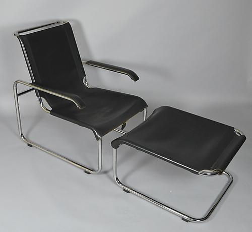 Marcel Breuer Thonet Sessel S35 Mit Hocker Mobel Sessel Stuhle