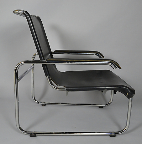 marcel breuer thonet sessel s35 mit hocker m bler. Black Bedroom Furniture Sets. Home Design Ideas