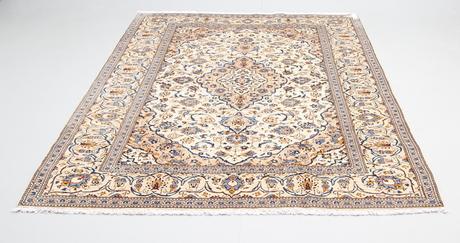 Berömda MATTA, Orientalisk, ljus Keshan, 302 x 197 cm. Mattor & Textil YE-61