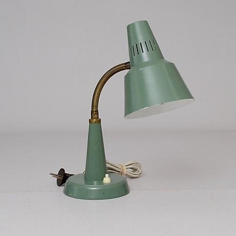 "1950 tal"" i Bordslampor i Sverige Auctionet"