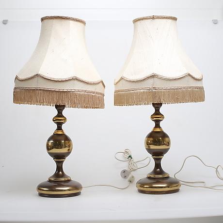 Bordslampor Auctionet