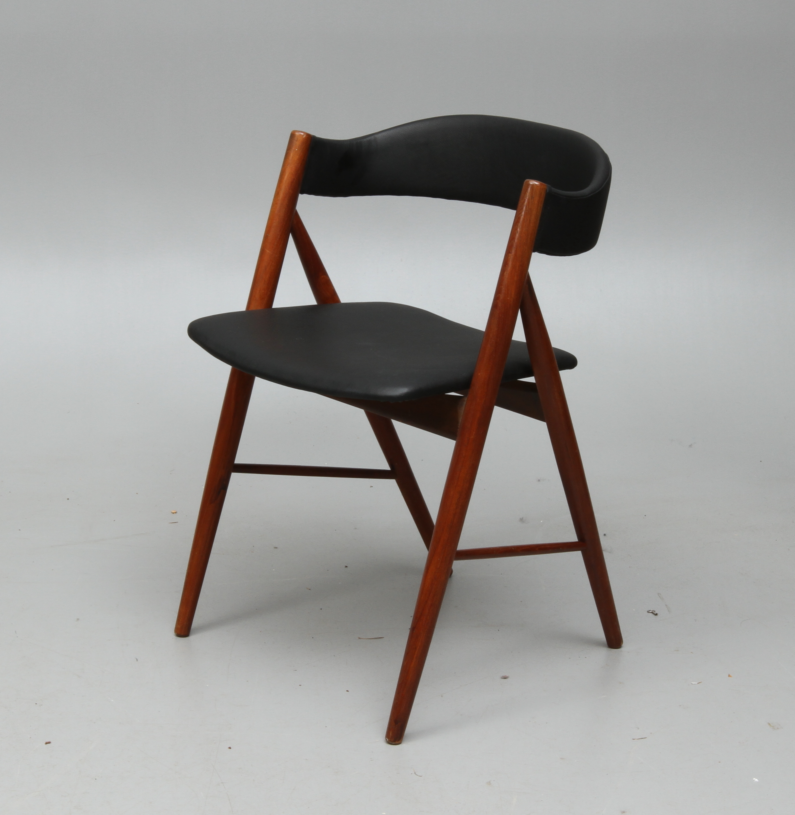 stol teak STOL, teak, 1950/60 tal. Furniture   Armchairs & Chairs   Auctionet stol teak