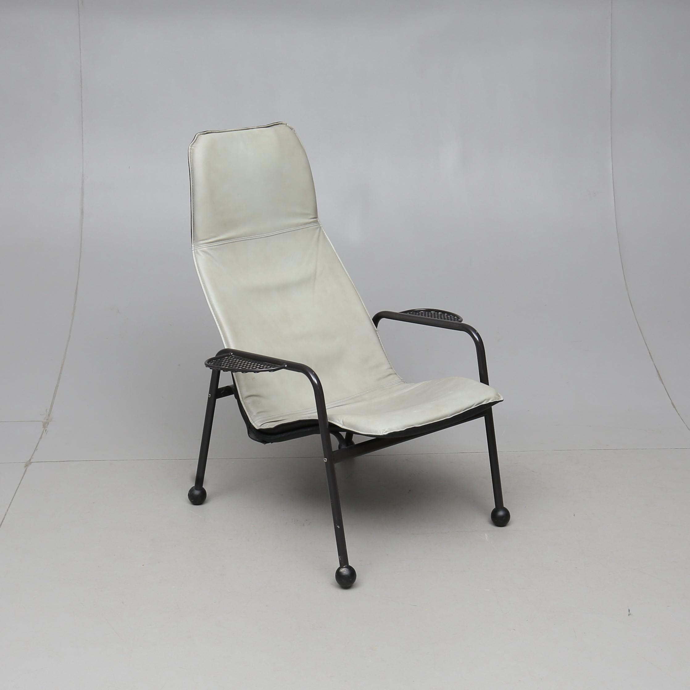 FÅTÖLJ, Exen, Tord Björklund, Ikea, 1980 90 tal. Möbler