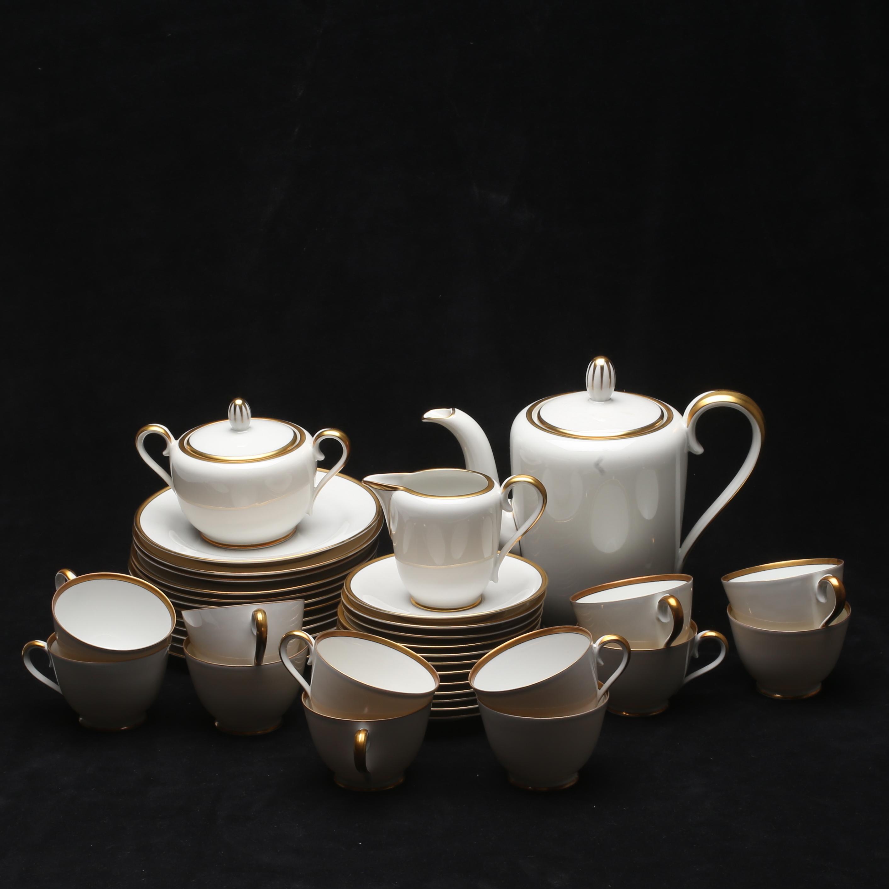 3de589ff KAFFESERVIS, 27 delar, porslin, Tirschenreuther, Tyskland. Ceramics &  Porcelain - European - Auctionet
