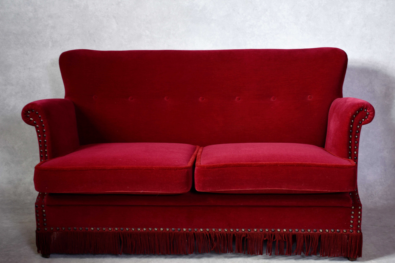 Awe Inspiring Soffgrupp 3 Delar Dansk Mobeltillverkare 1900 Talets Forsta Onthecornerstone Fun Painted Chair Ideas Images Onthecornerstoneorg