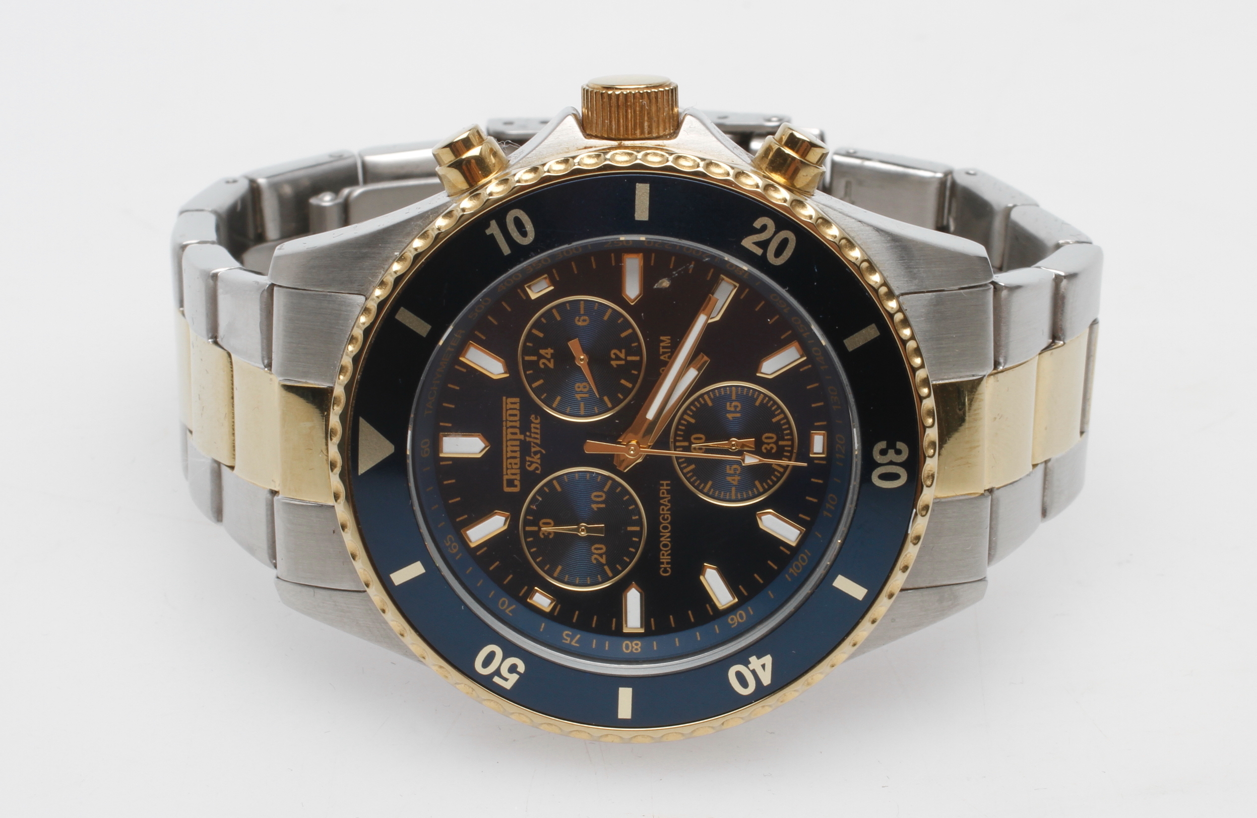 champion watches clocks auctionet armbandsur en item phantom chronograph