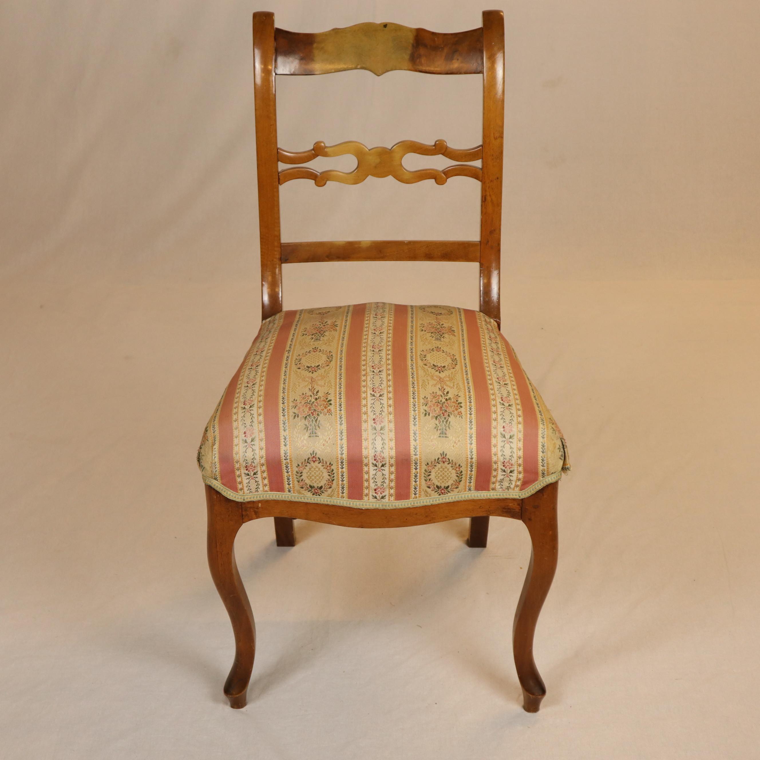Biedermeier Stuhl Nussbaum Furniture Armchairs Chairs