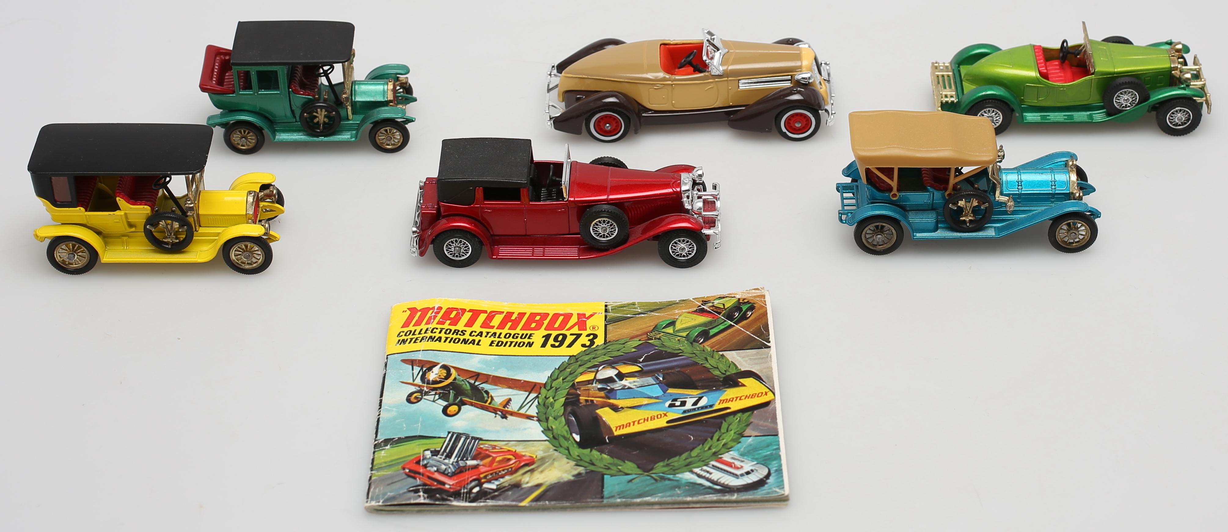 PARTI LEKSAKSBILAR (6)  Bl a Matchbox och Lesney  Toys - Auctionet