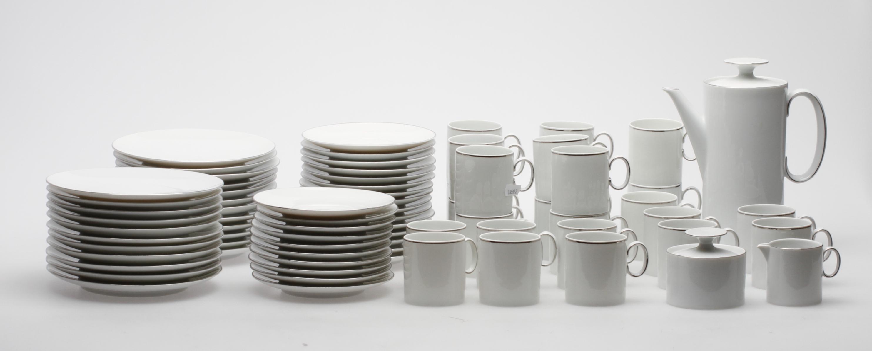 f45bfcb5 KAFFESERVIS, 51 delar, Thomas, Tyskland. Ceramics & Porcelain - European -  Auctionet