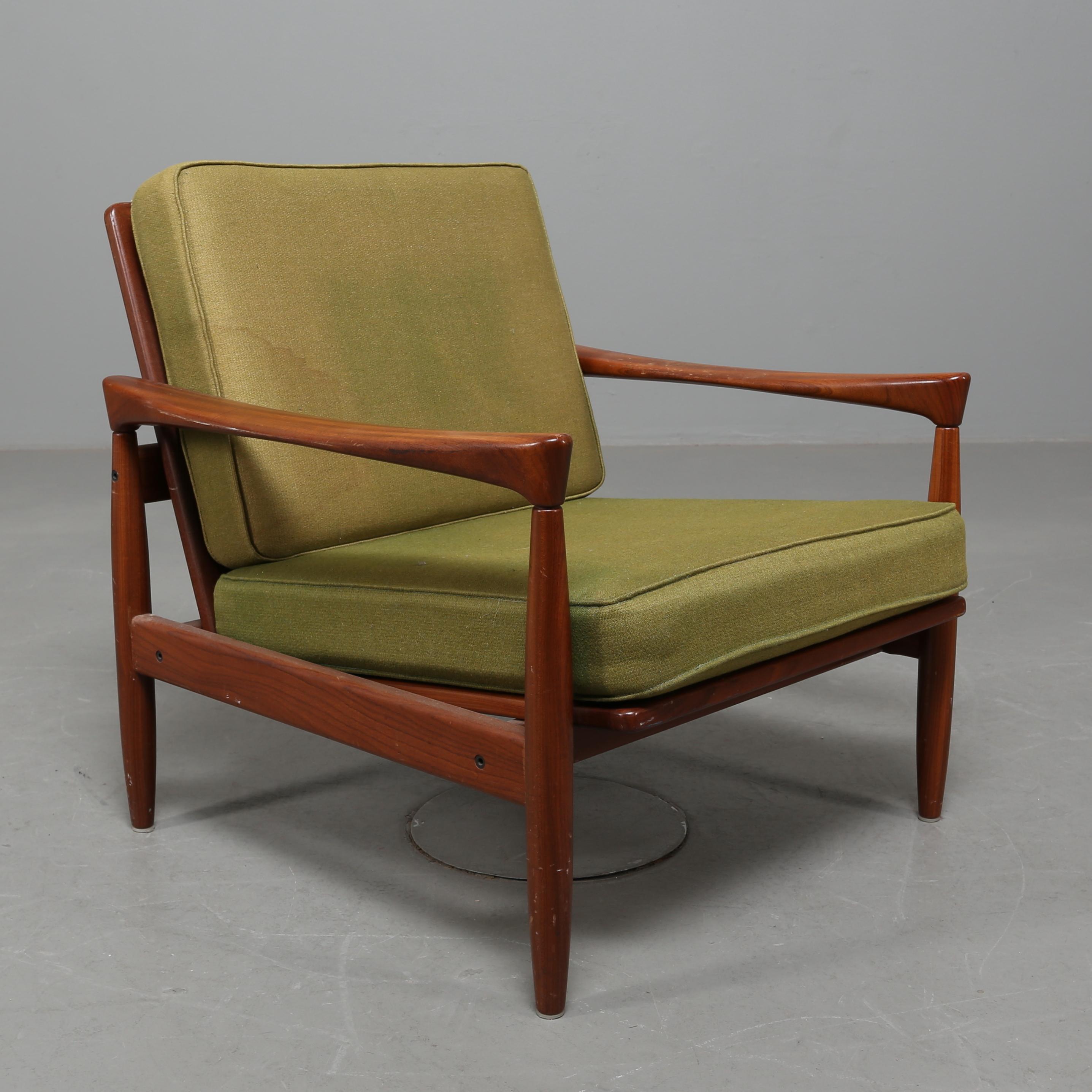 FÅTÖLJ, Erik Wörtz, IKEA, 195060 tal. Möbler Fåtöljer