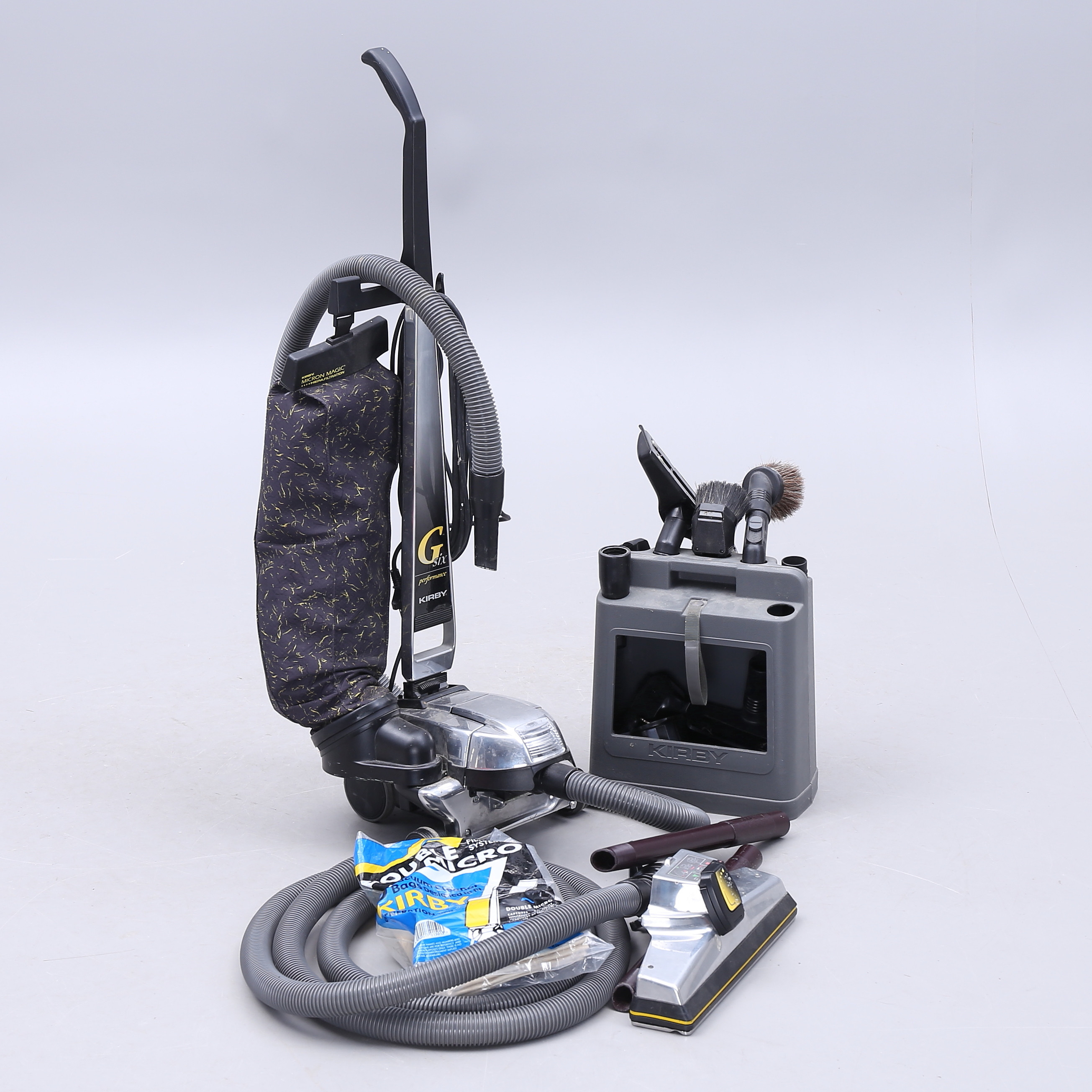 DUST CLEANER with accessories, Kirby. Other Modern