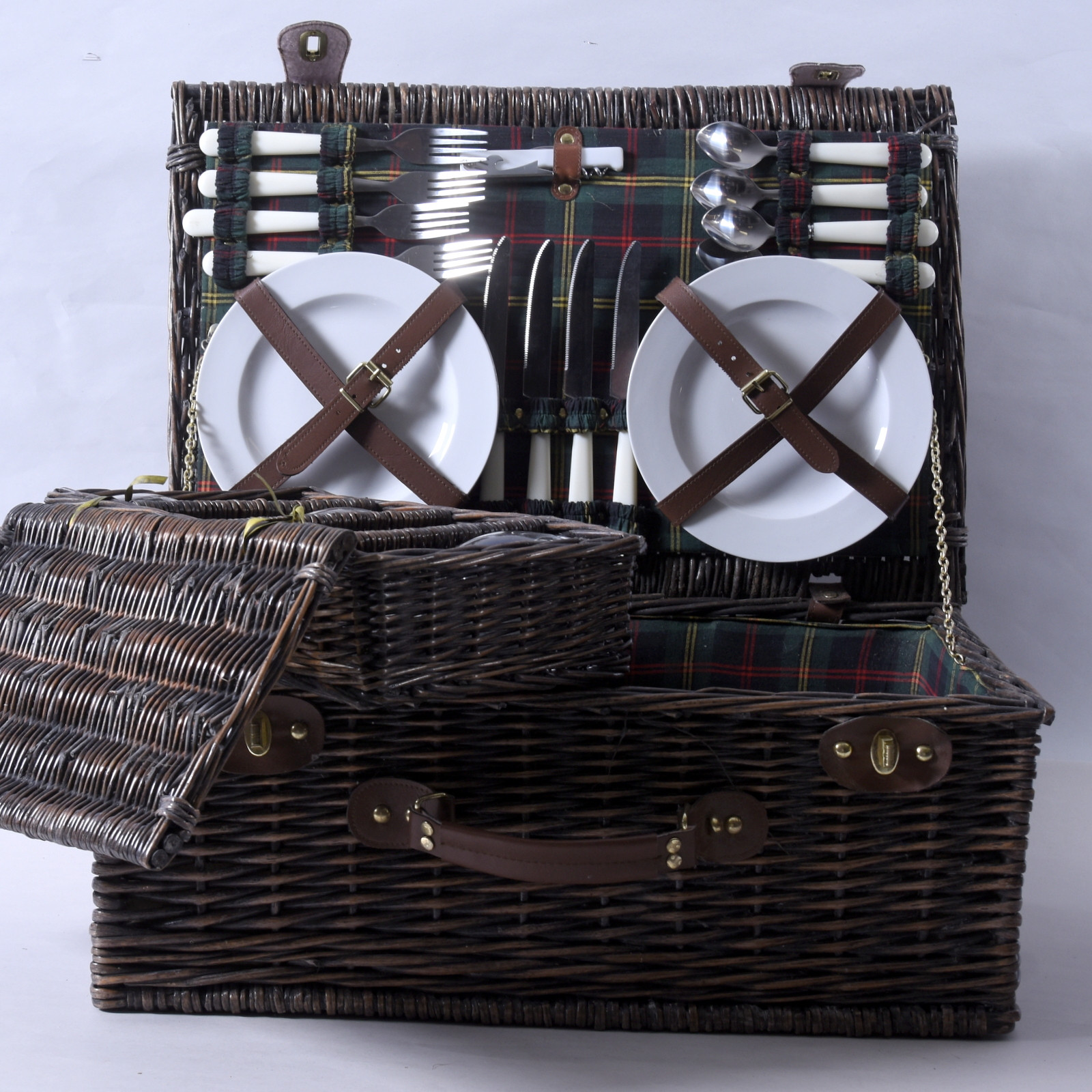 PICNIC BAG, with accessories ,, late 20th century. Other