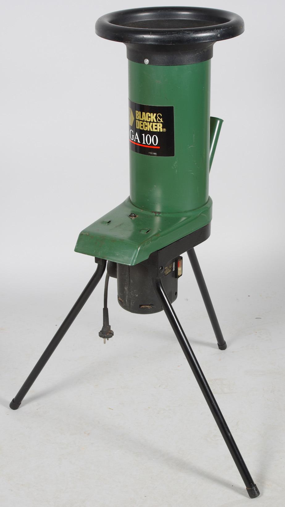 bilder f r 142180 kompostkvarn black decker ga 100 auctionet. Black Bedroom Furniture Sets. Home Design Ideas