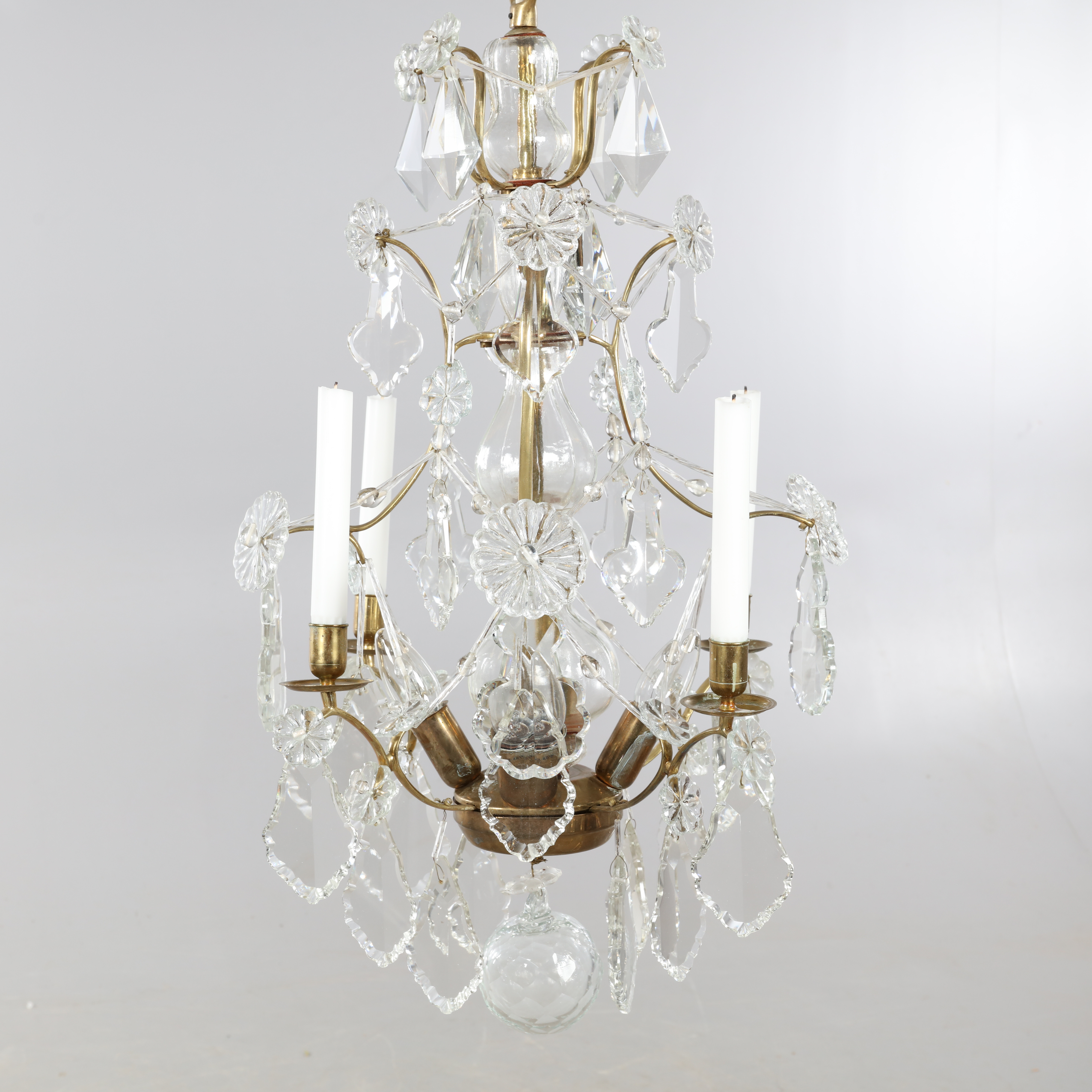 Chandelier Sturehov Rococo Style From Ikea S 1700s Series Lighting Lamps Ceiling Lights Auctionet