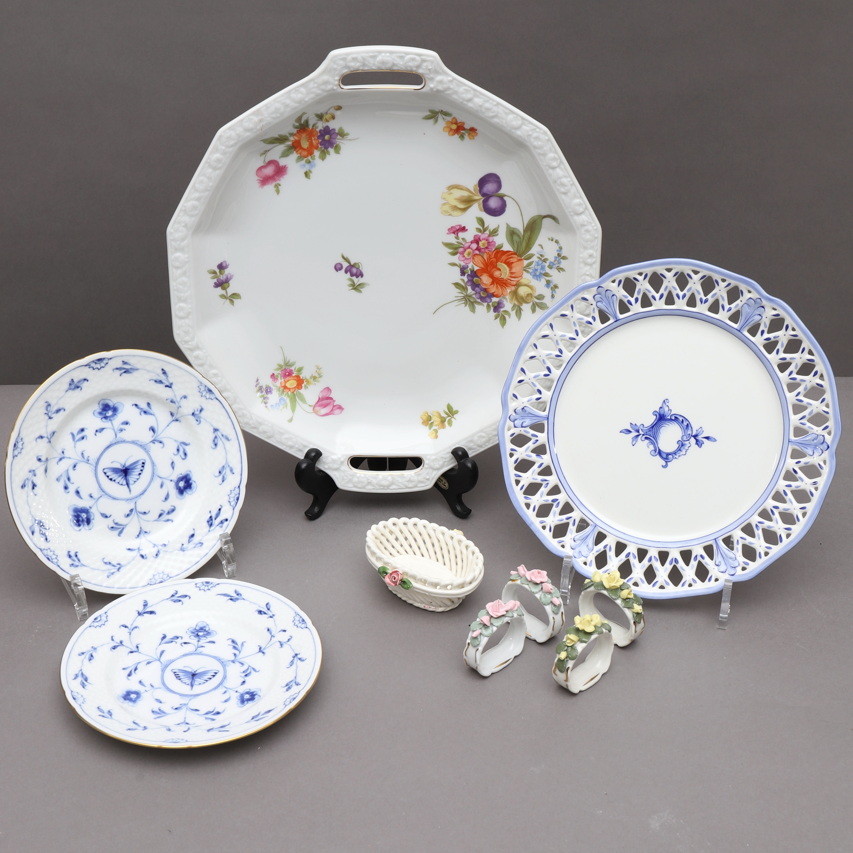 Porcelain Items 9 Parts I A Rorstrand Bing Grondahl Rosenthal Ceramics Porcelain European Auctionet