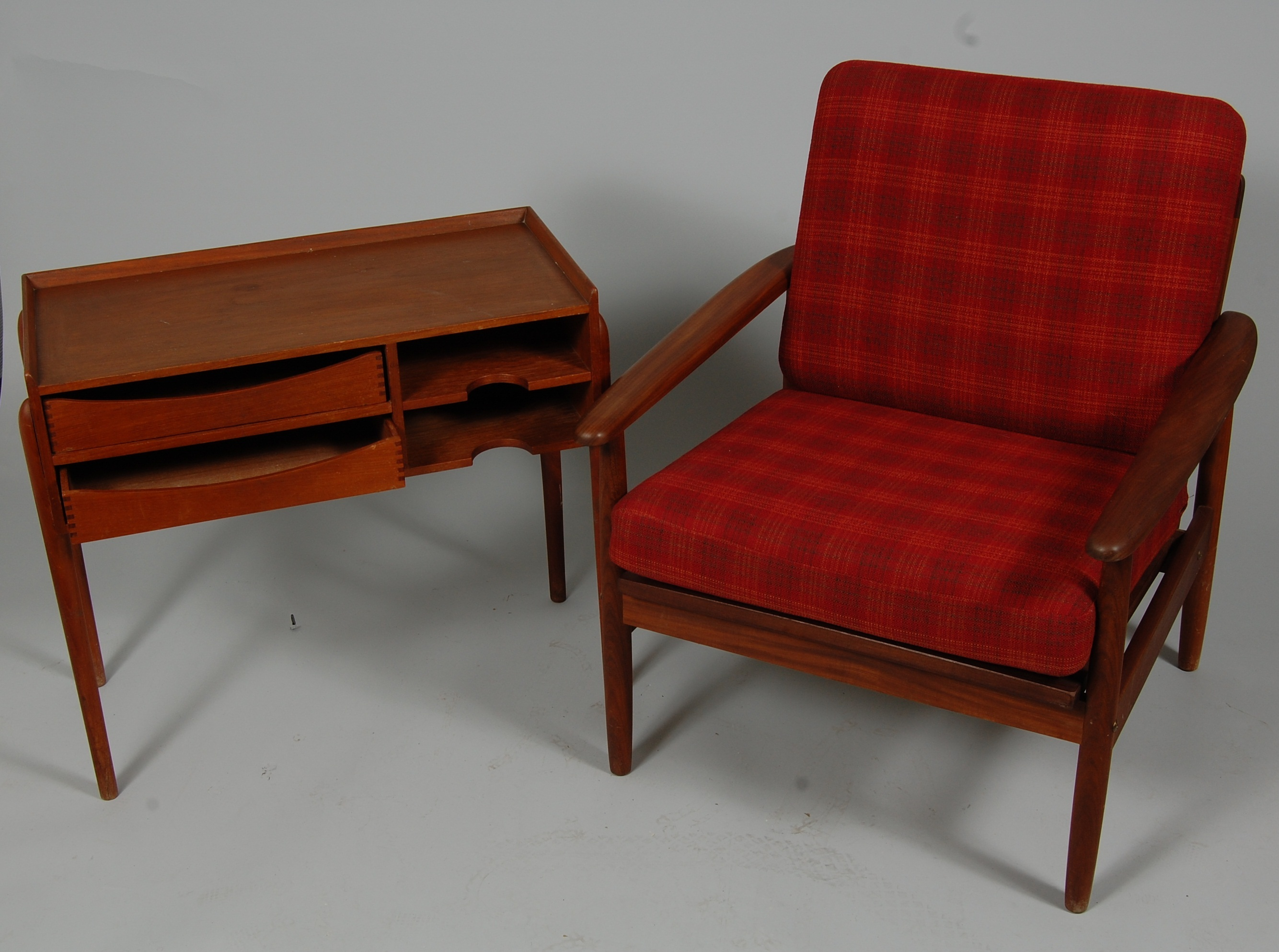 Parti Mobler 2 Delar Teak 1950 60 Tal Furniture Other Auctionet
